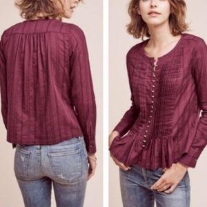 Anthropologie Maeve Gelise blouse top